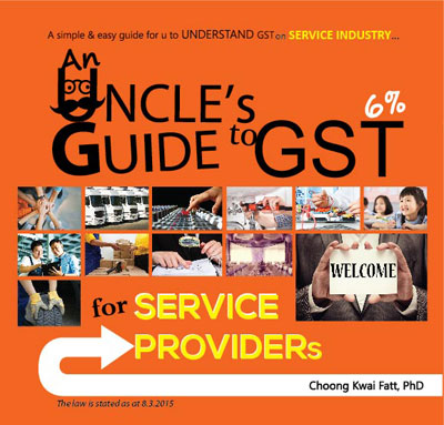 An Uncle's Guide to GST for Service Providers