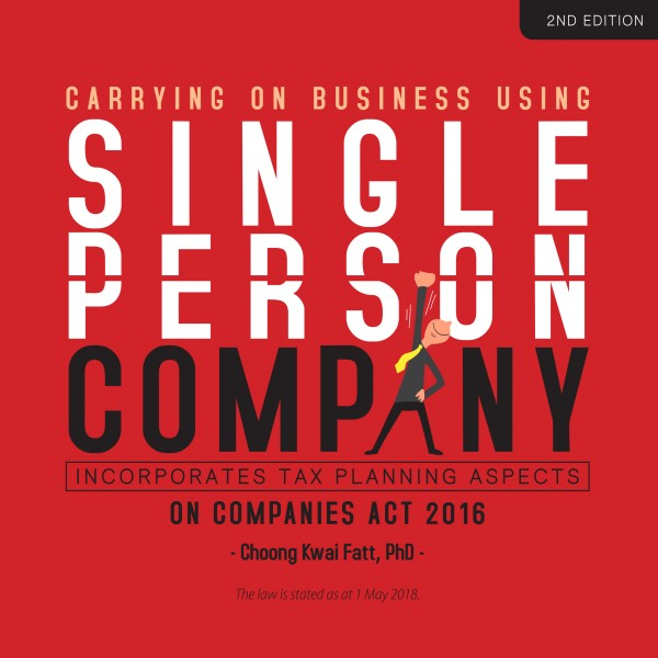 Single Person Company (2nd Edition) - Front Cover