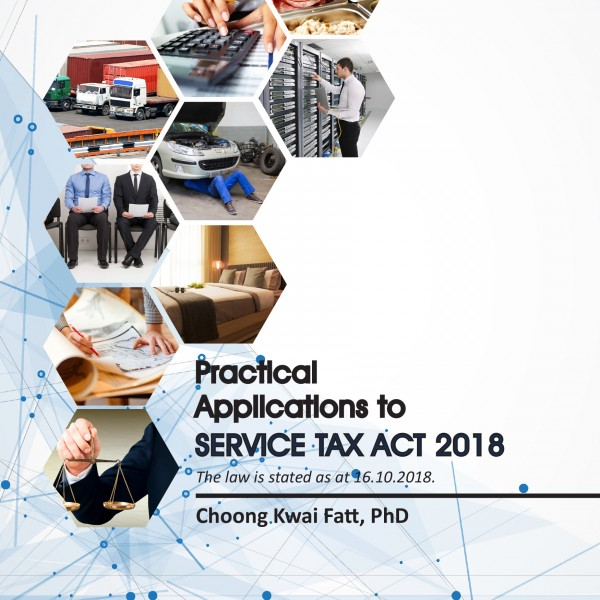 Practical Applications for Service Tax (Front Cover)